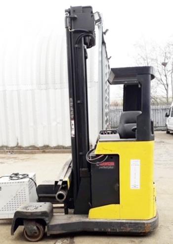 Atlet reach side loader truck